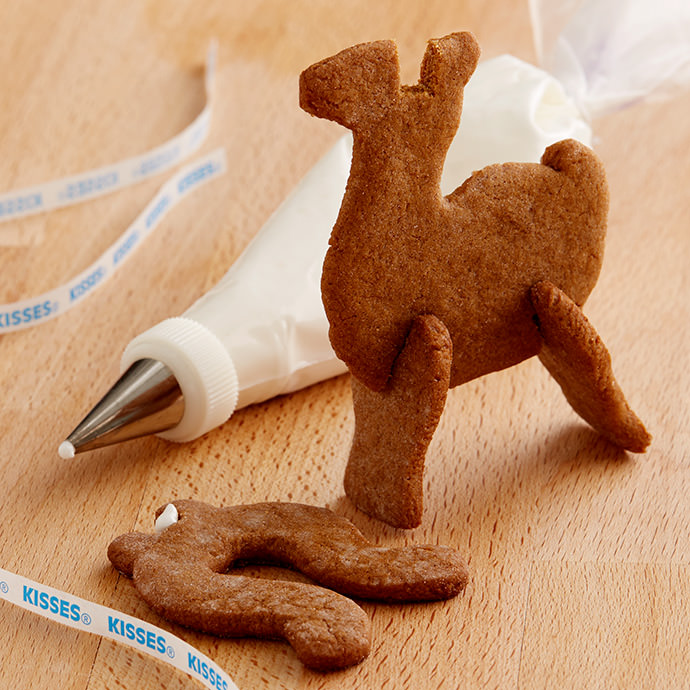 Make Your Own Santa's Sleigh Out of Gingerbread