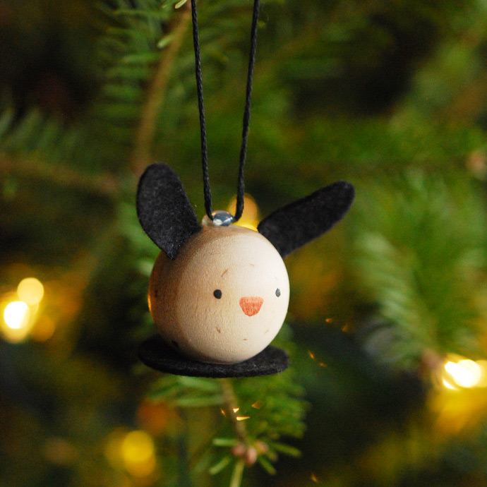 Make Wooden Critter Ornaments for Your Tree