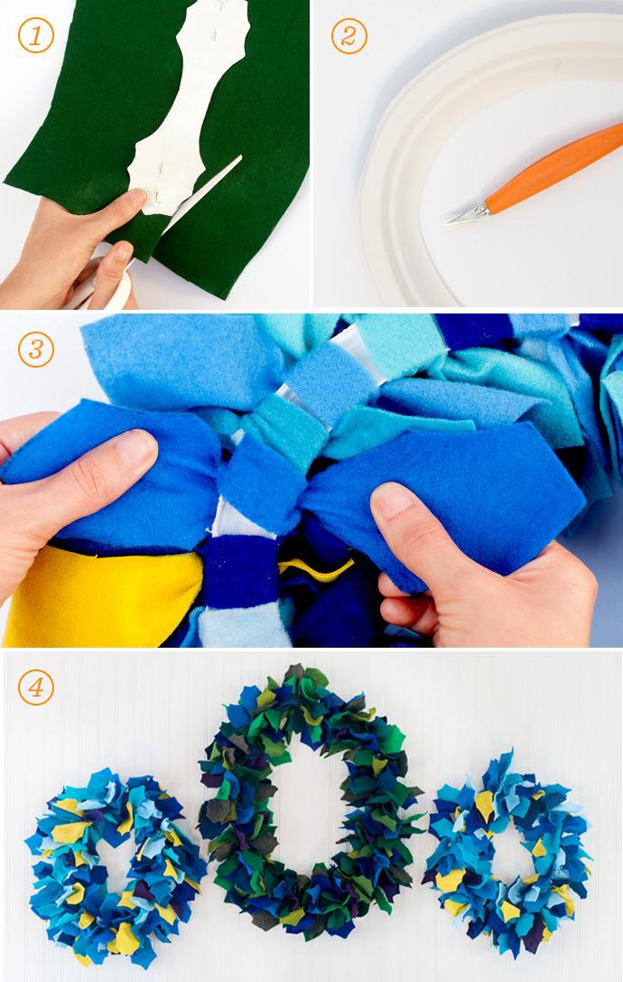 Glade DIY Felt Wreath