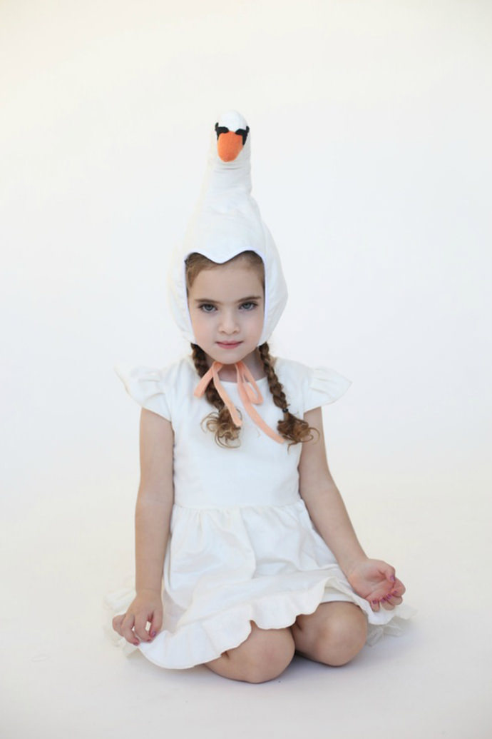 Lovely Swan Costume Hat