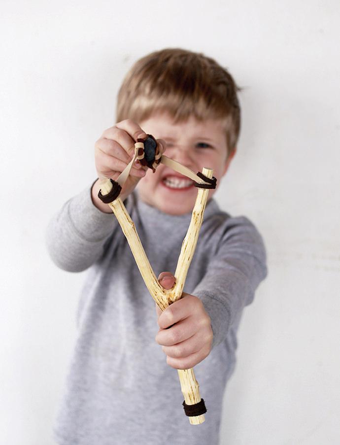 Easy DIY Slingshot Toy for Kids