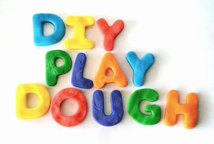 DIY Homemade Play Dough