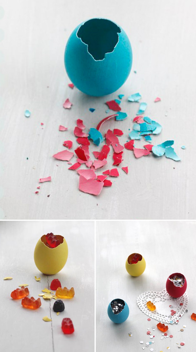DIY Treat-Filled Easter Eggs (from blown-out eggs)