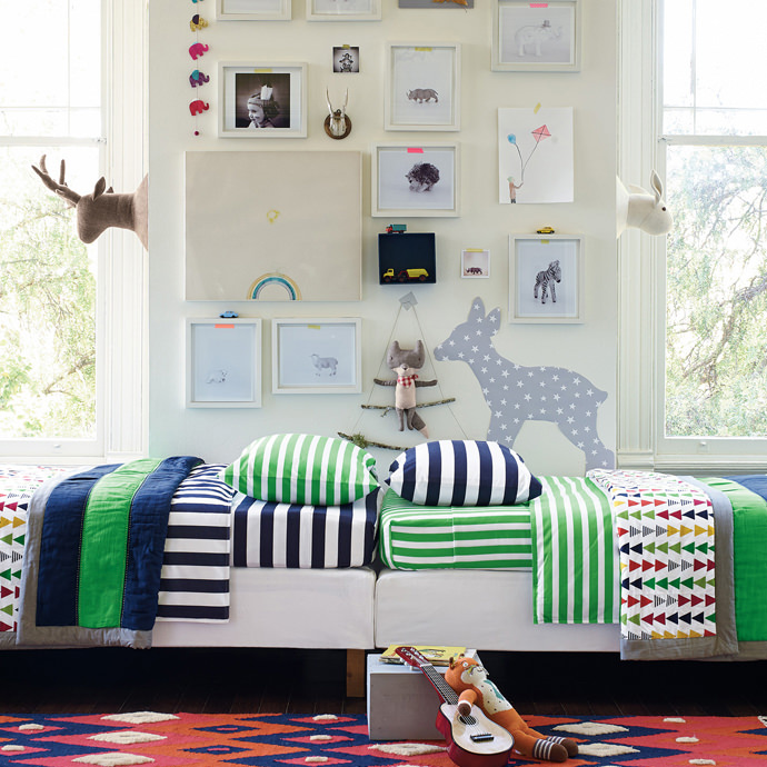 Reversible Quilts from Hanna Home