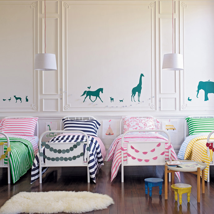 Swedish Striped Duvets from Hanna Home