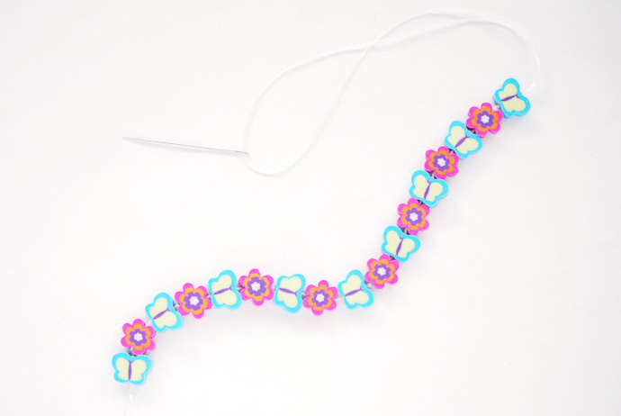 Easy DIY Eraser Bracelet