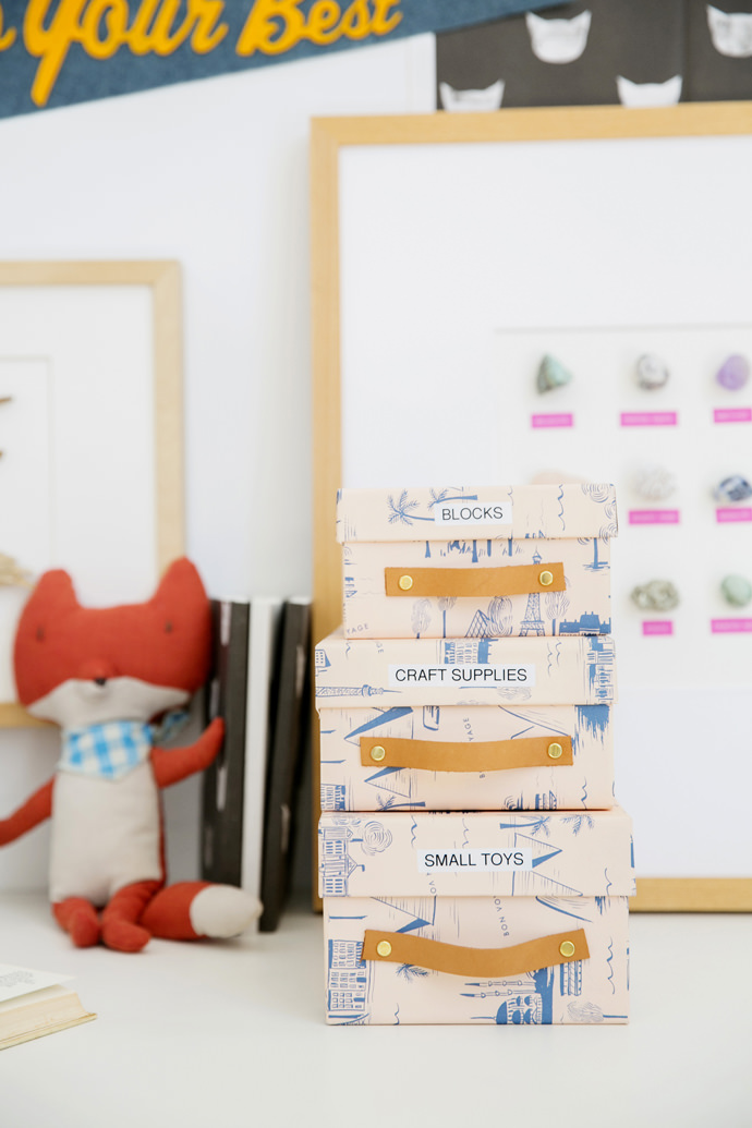 Organize With Recycled Shoe Boxes Handmade Charlotte