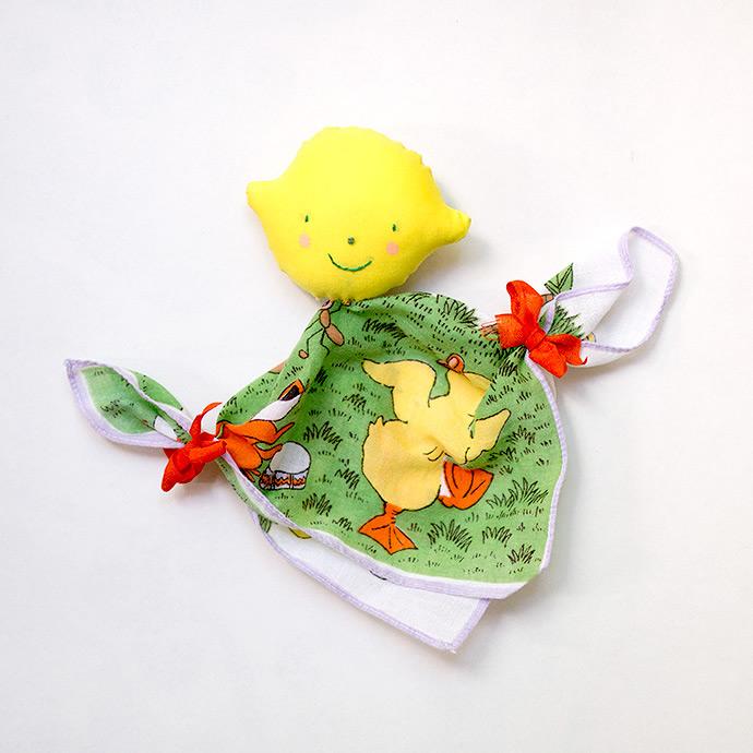 DIY Fabric Handkerchief Dolls for Kids
