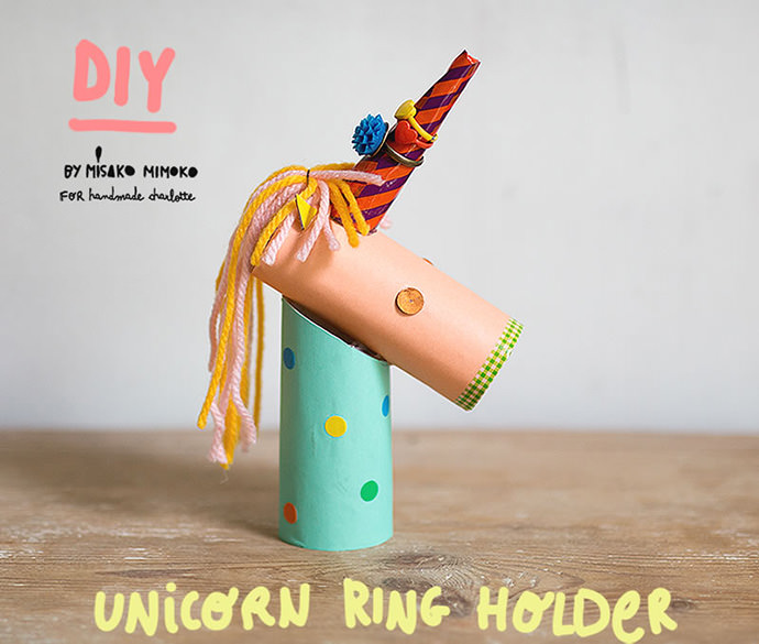 DIY Unicorn Ring Holder