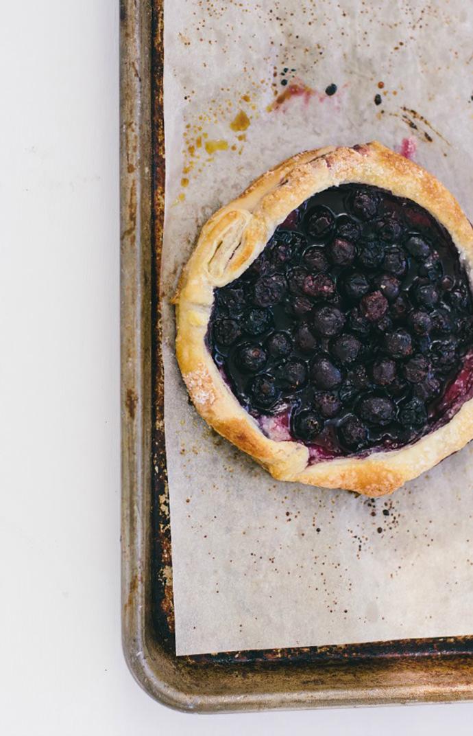 Blueberry Puff Pastry Tart Recipe