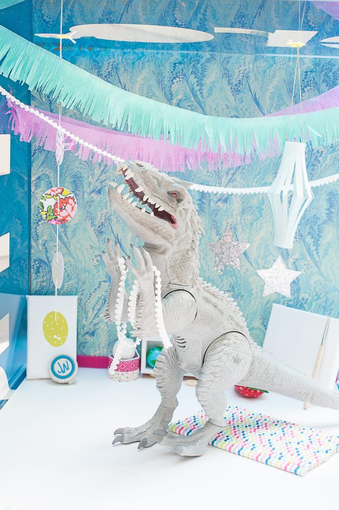 Dinosaur Party DIY Straight from Jurassic World