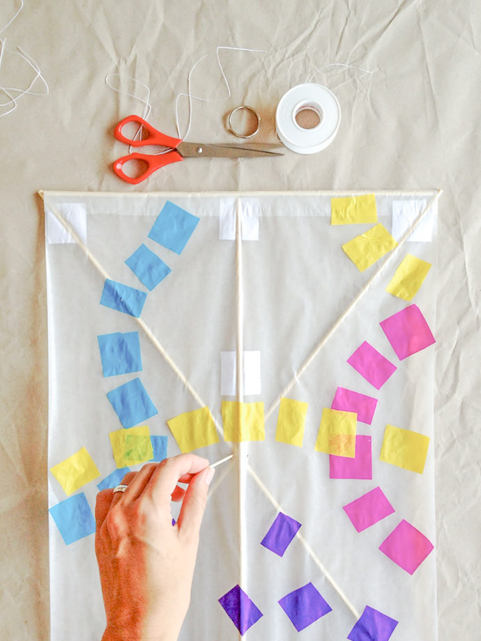 How to make a Japanese Kite: Step 5