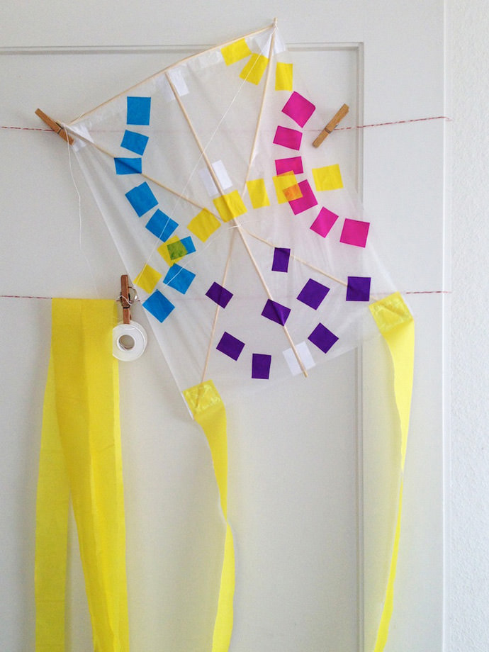 DIY Japanese Children's Kite Craft