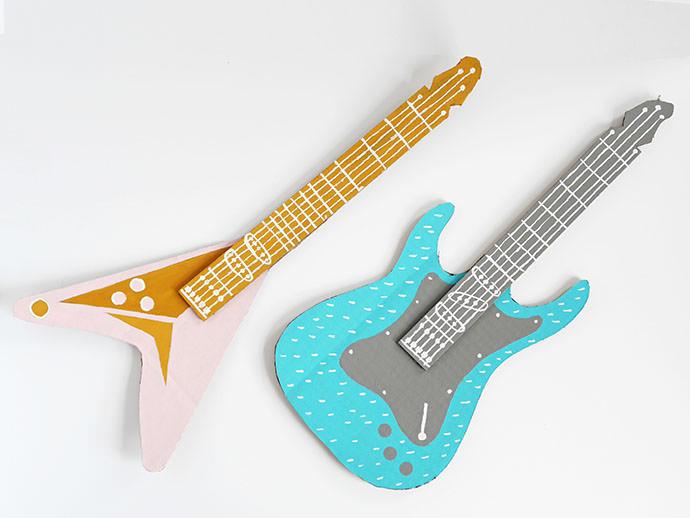 DIY Cardboard Guitar