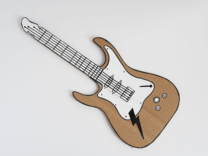 How To Make A Guitar For Your Rockstar