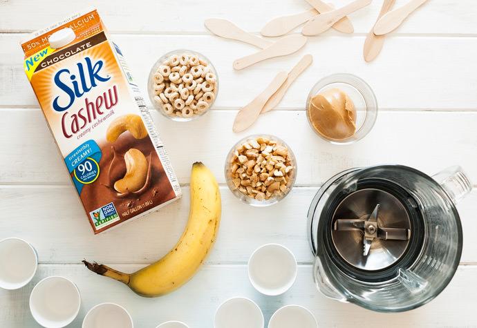 Breakfast Pop Ingredients with #SilkCashew