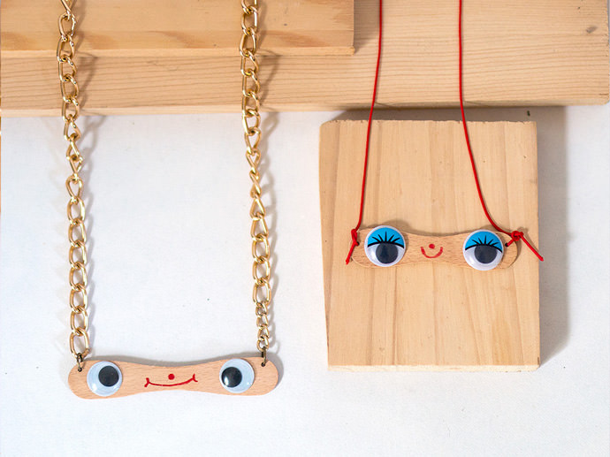 DIY Popsicle Stick Jewelry