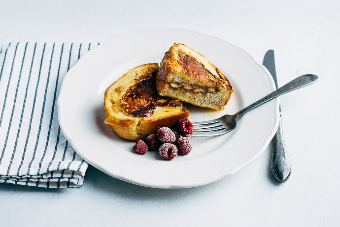 Recipe: Nut Butter and Banana Stuffed French Toast