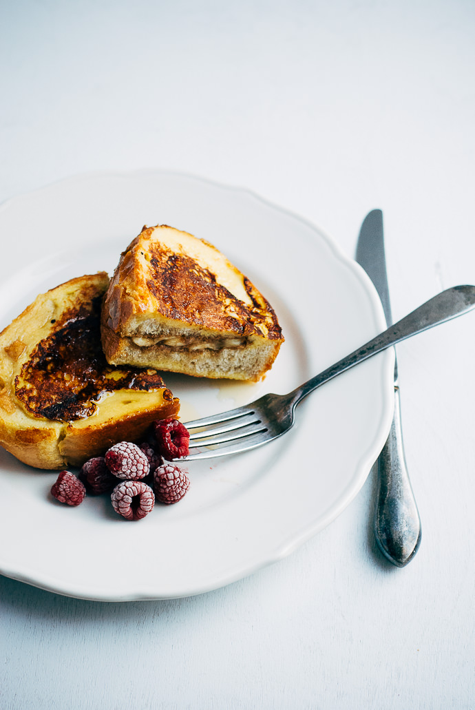nut butter and banana stuffed french toast13
