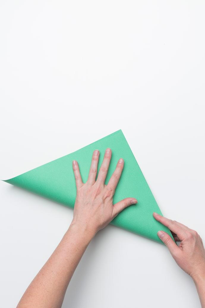 Origami Sandwich Pocket Step 1