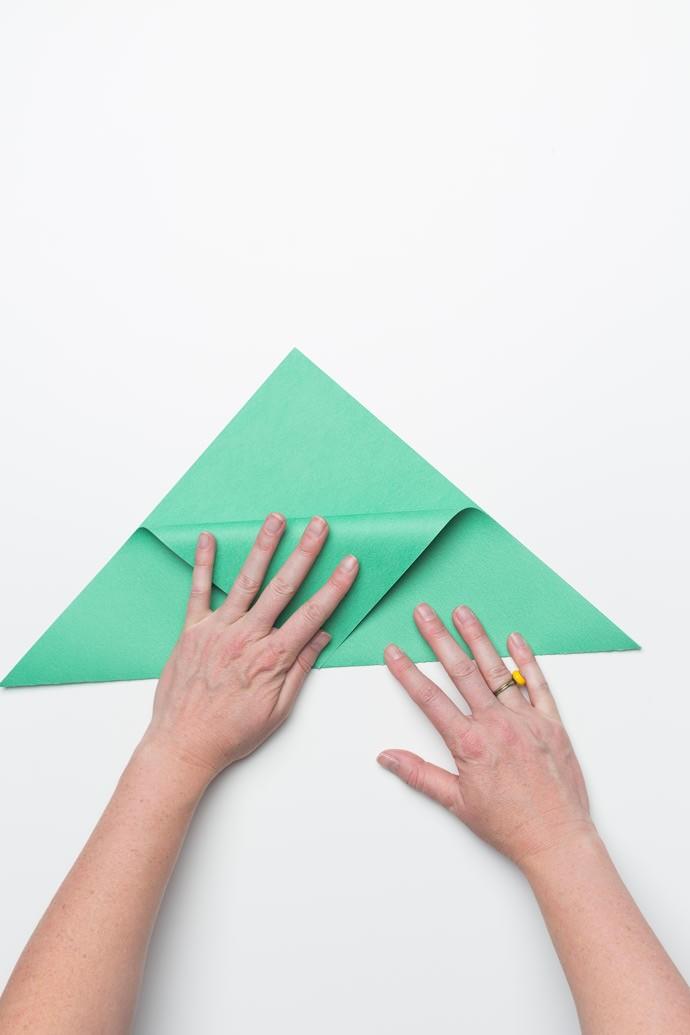 Origami Sandwich Pocket Step 2