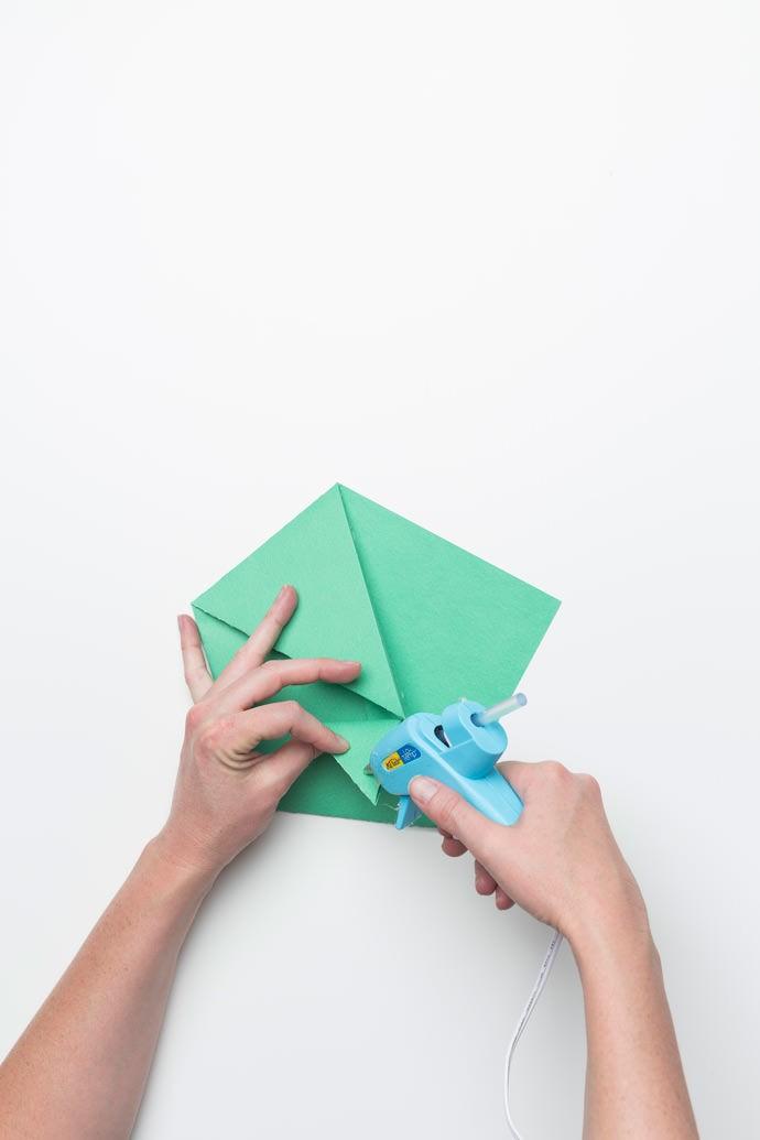 Origami Sandwich Pocket Step 5
