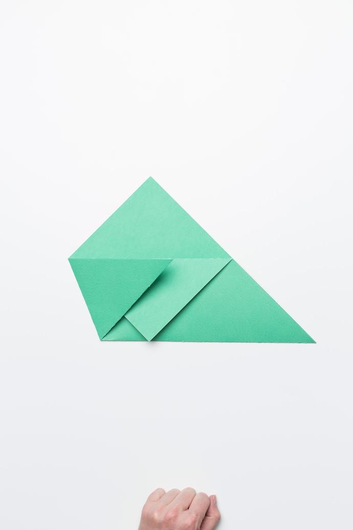 Origami Sandwich Pocket Step 3