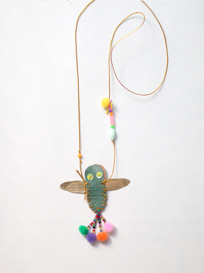 Make Your Own DIY Dragonfly Necklace: Step 5