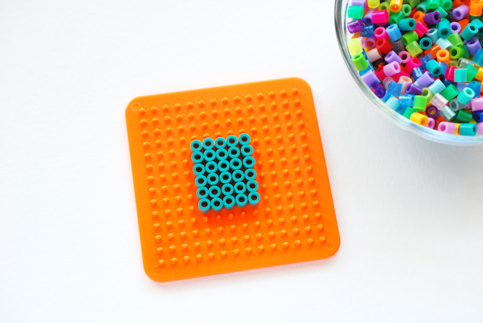 How to Make DIY Perler Bead Monograms