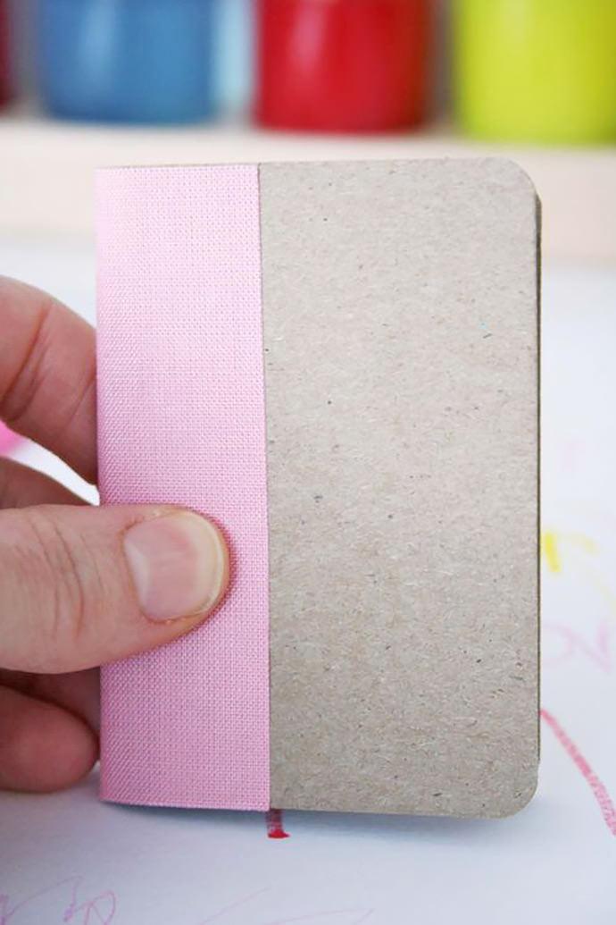 Miniature Center-Stitched Book