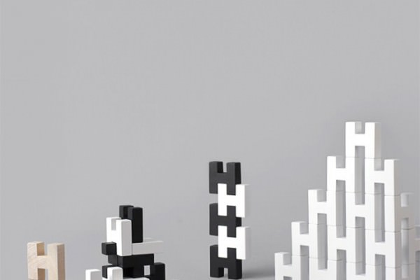 H BLOCK - modern wooden toy blocks for kids