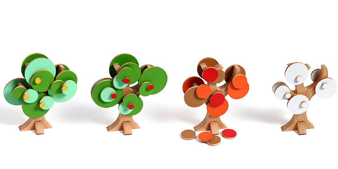 Cycle of Life modern wooden toy for kids