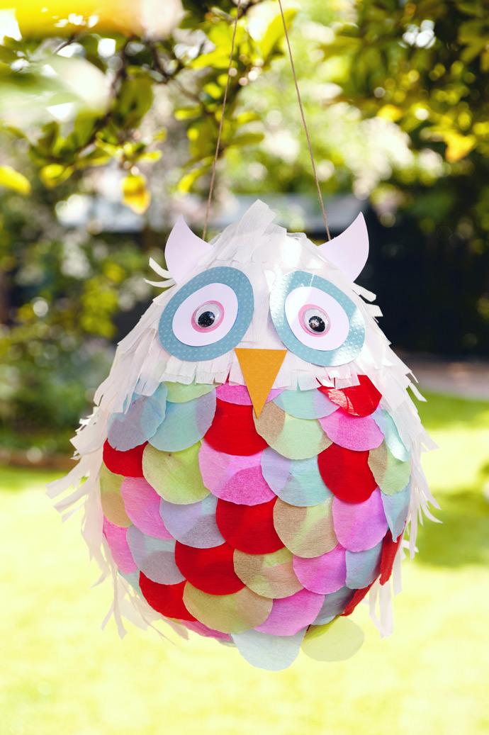 Ollie The Owl Piñata via Hobby Craft