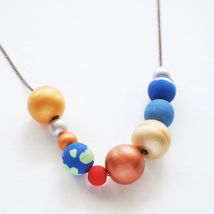 Make a Stellar Solar System Necklace