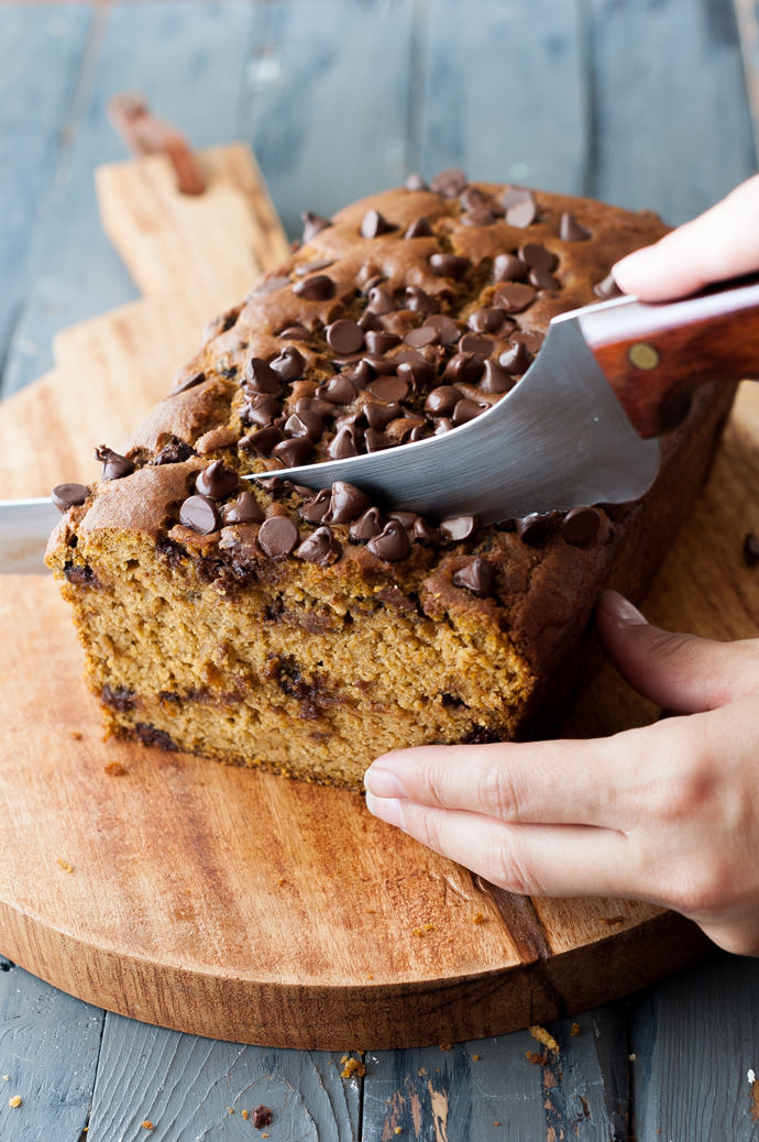 Recipe: Whole Wheat Pumpkin Chocolate Chip Bread