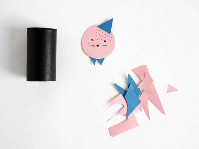 Toilet Paper Roll Dolls