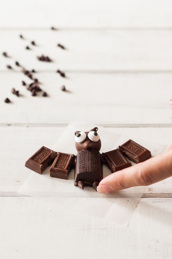 Mini Chocolate Bats