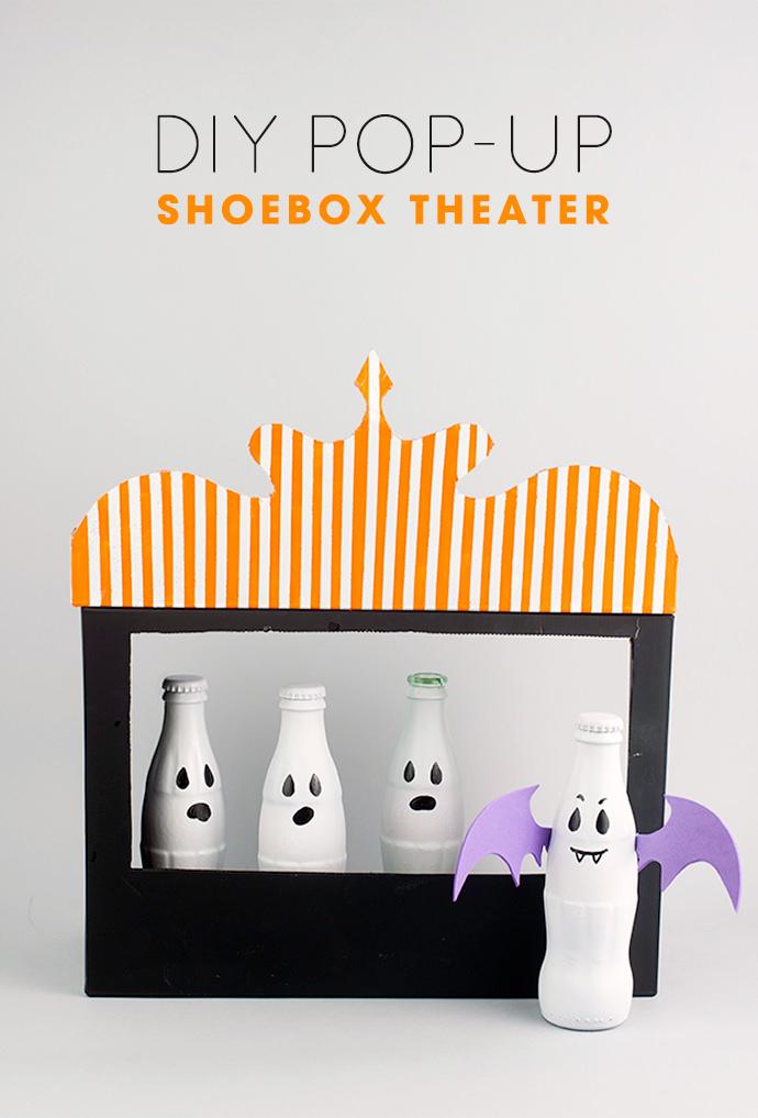 DIY Pop-Up Shoebox Theater