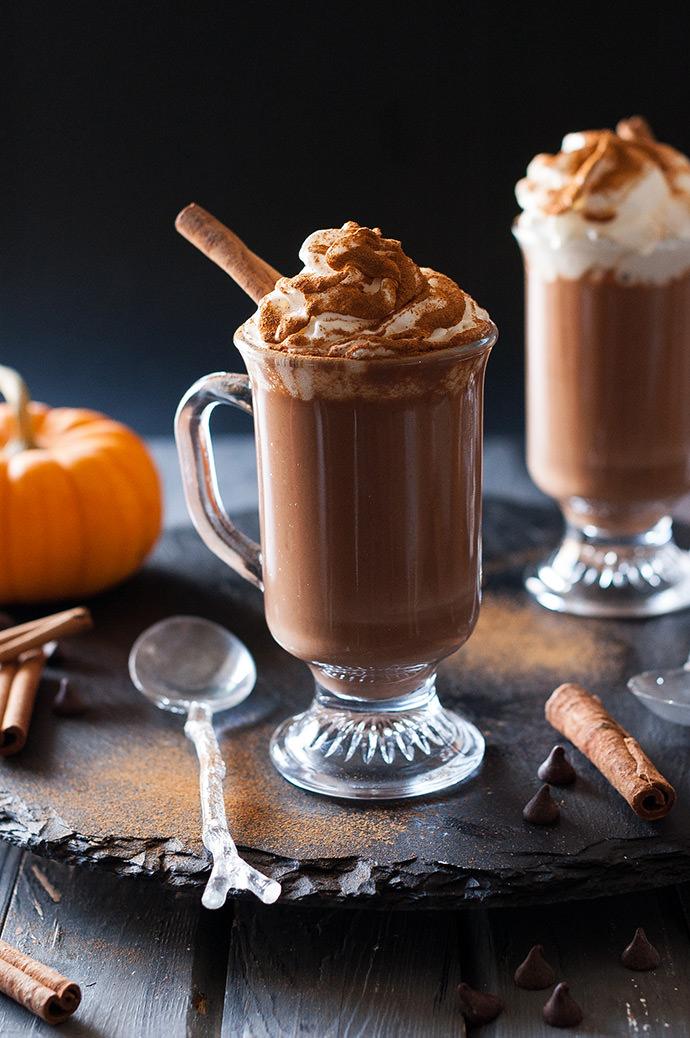 Pumpkin Hot Chocolate