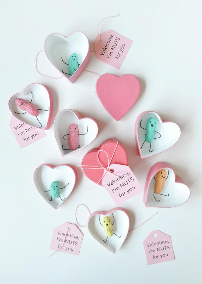 DIY Peanut Valentines
