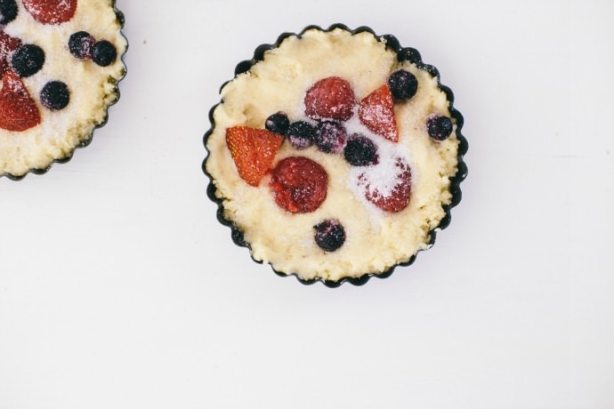 Berry Breakfast Cakes