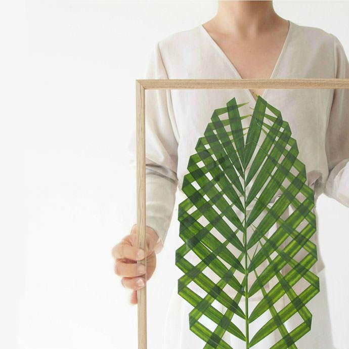 DIY Leaf Art, tutorial via Monsters Circus