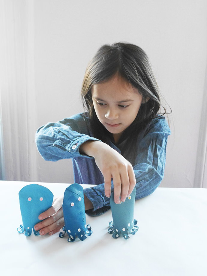 DIY Octopus Shell Game