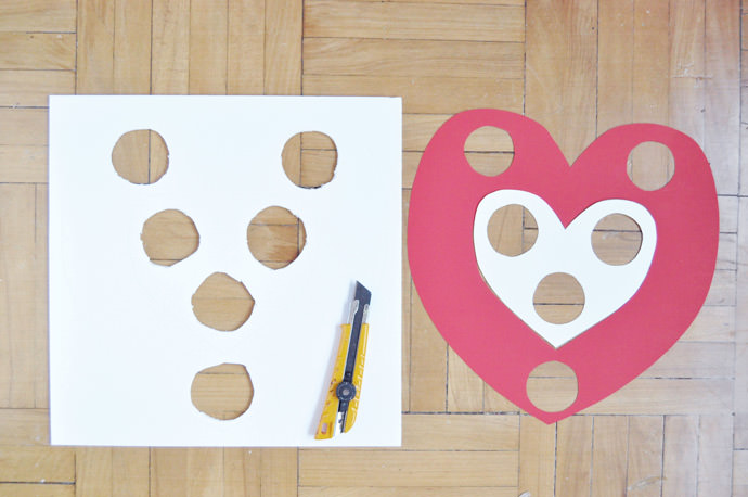 Valentine's Day Carnival: DIY Skeeball