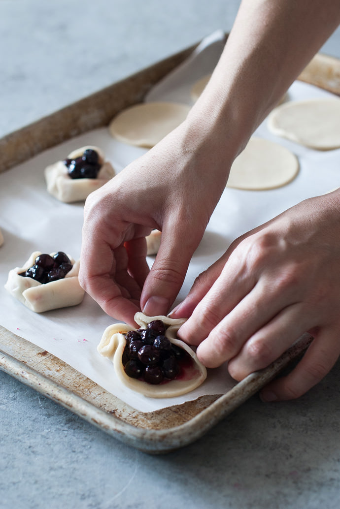 Recipe: Mini Blueberry & Honey Galettes