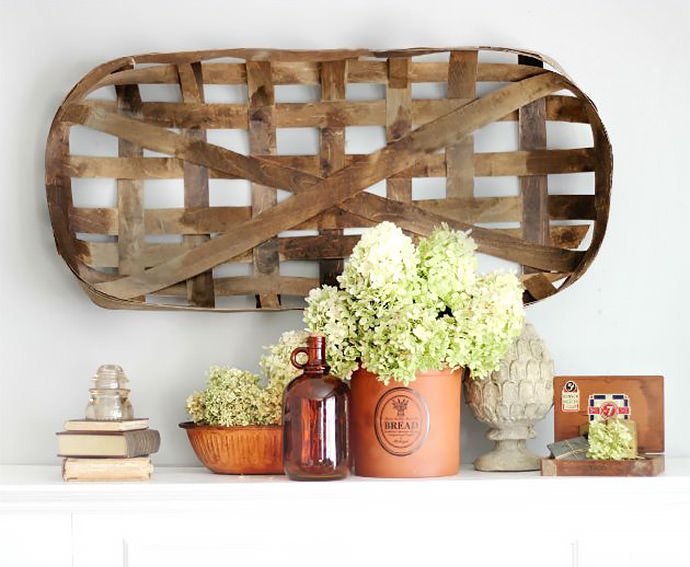 DIY Tobacco Basket, tutorial via Craftberry Bush