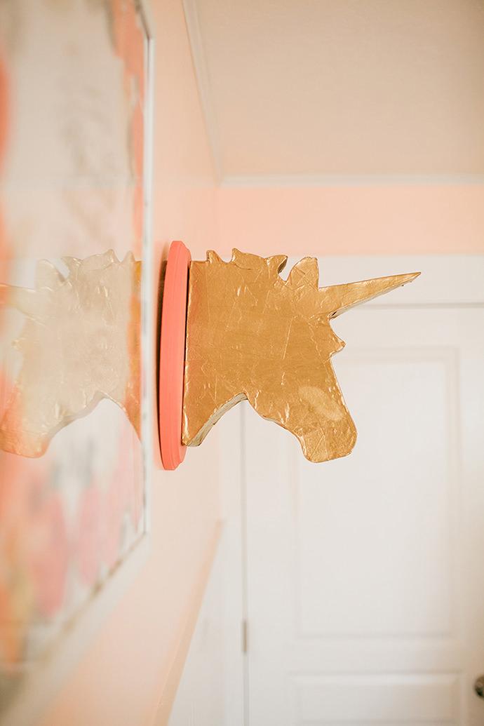 Unicorn Bust, tutorial via A Ruffled Life