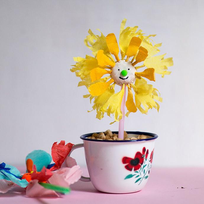 DIY Spring Flower Activity