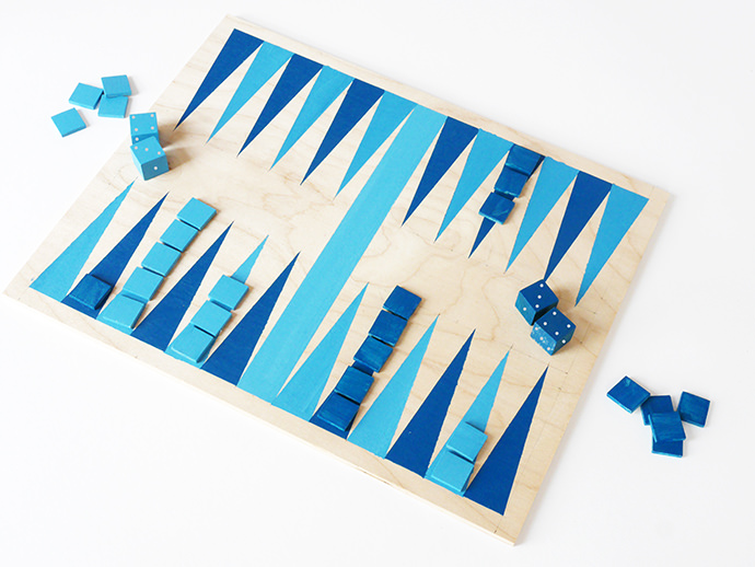 DIY Backgammon Game
