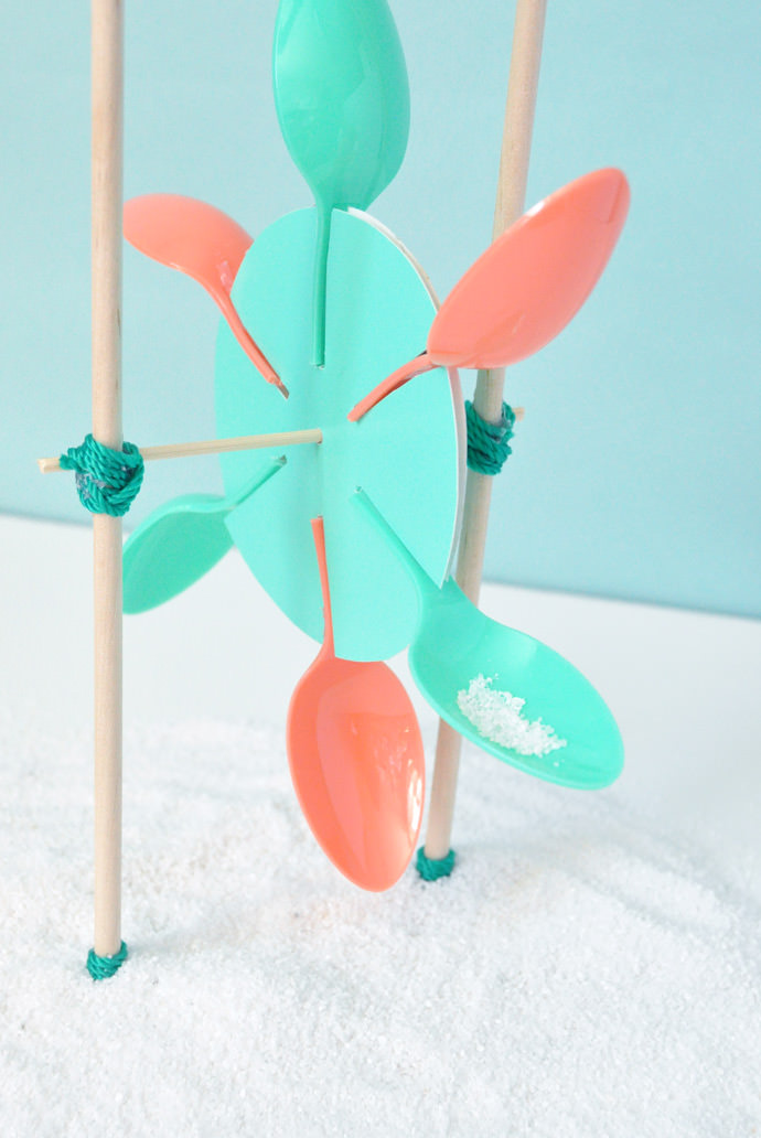 DIY Sand Mill Beach Toy